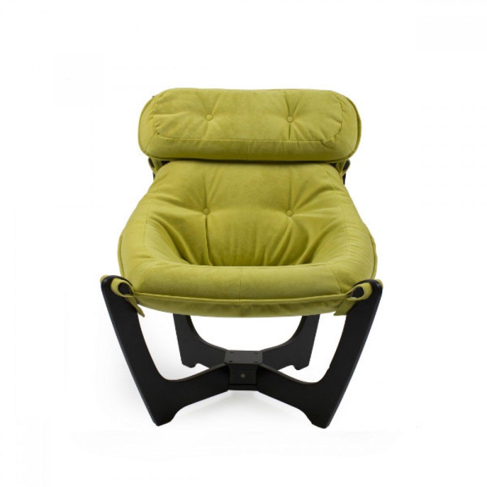 """Кресло для отдыха """"Луна"""", Модель 11 Венге/Apple - 2"""