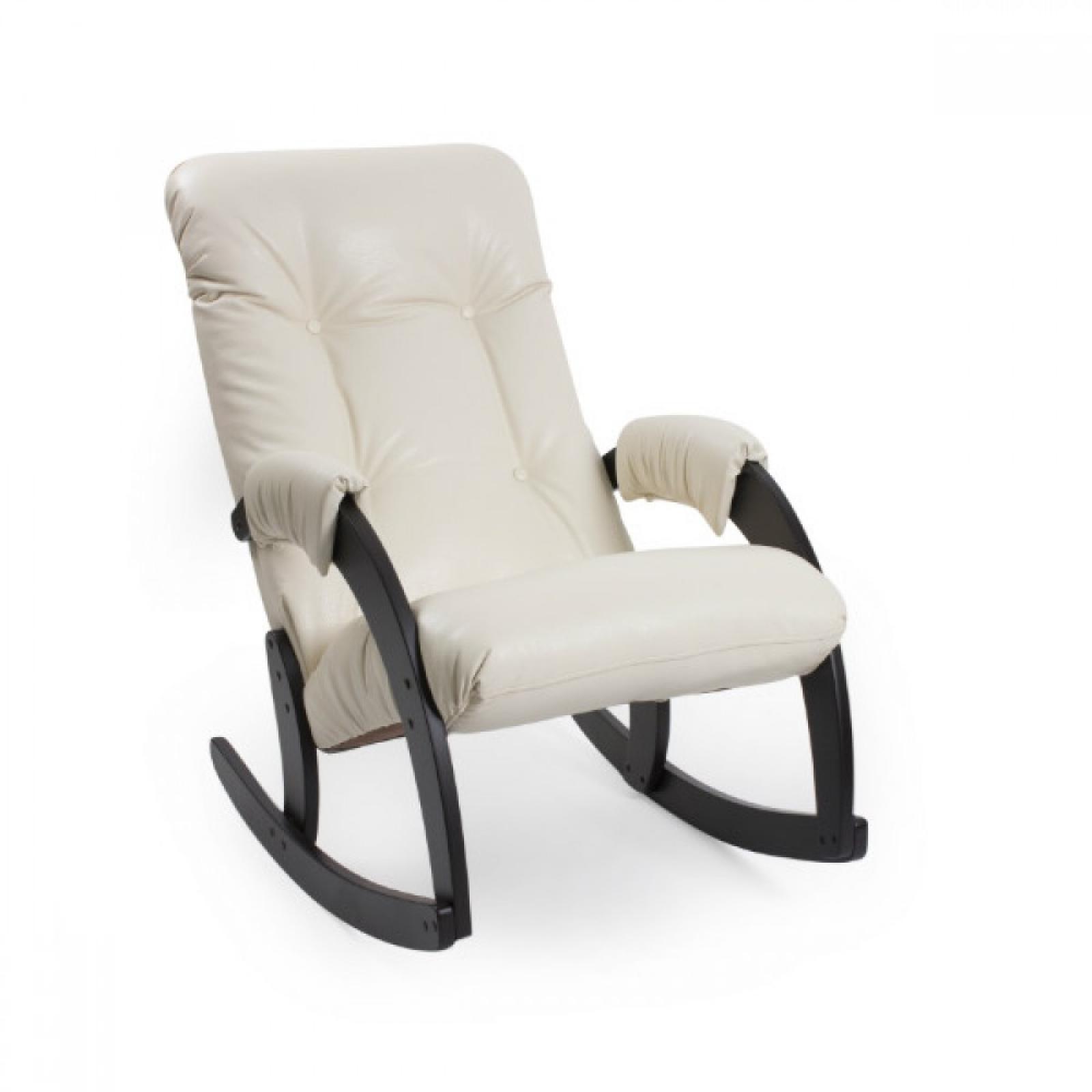 Кресло-качалка, Модель 67 Венге/Манго 002 - 1