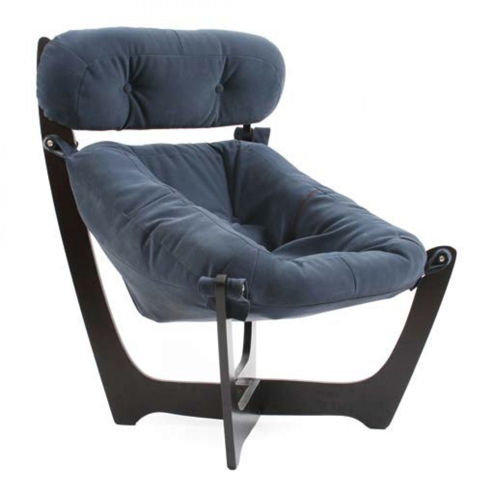 """Кресло для отдыха """"Луна"""", Модель 11 Венге/Dark Grey - 1"""