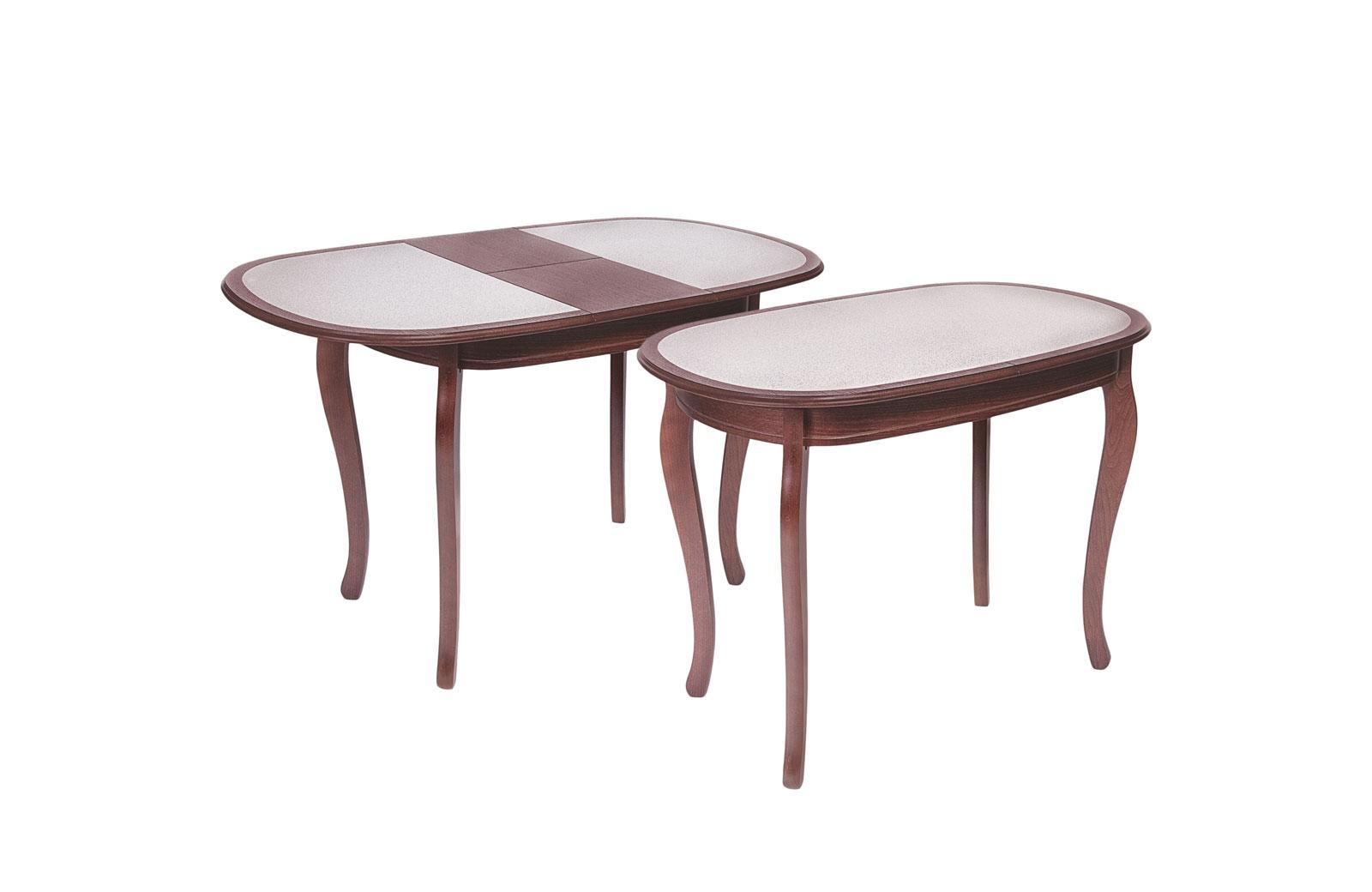 Стол обеденный Азалия 1000х700 с КАМНЕМ - 1