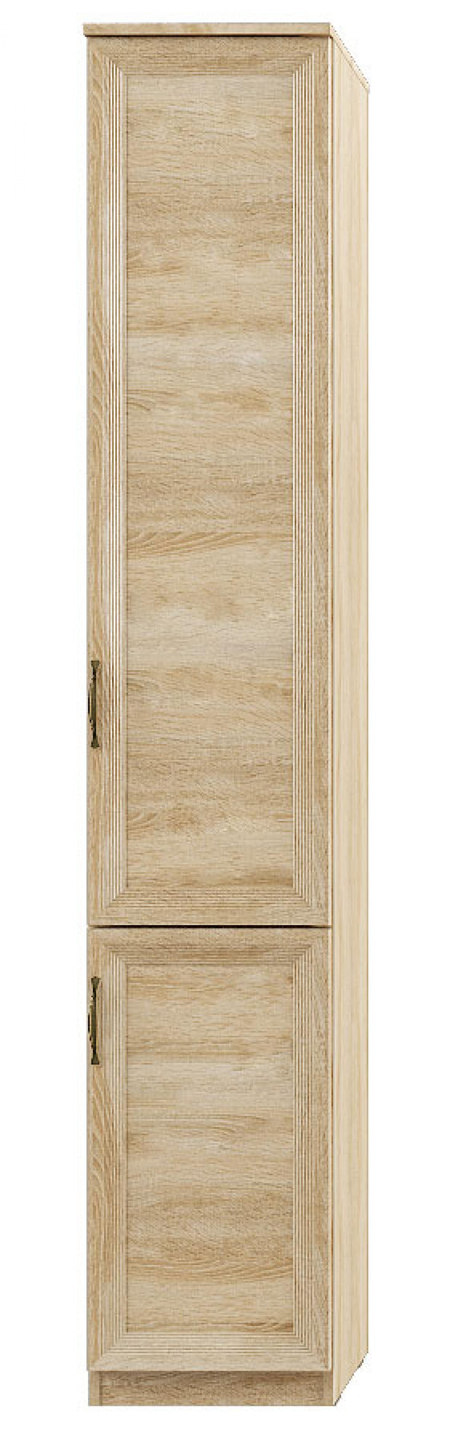 """""""Лира"""" 112 Шкаф-пенал 2-двер, фасады ДСП - 1"""