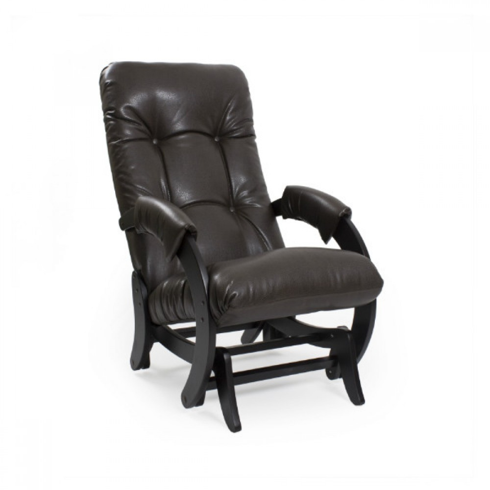 """Кресло-качалка """"Глайдер"""", Модель 68 Венге/Дунди 108 - 1"""