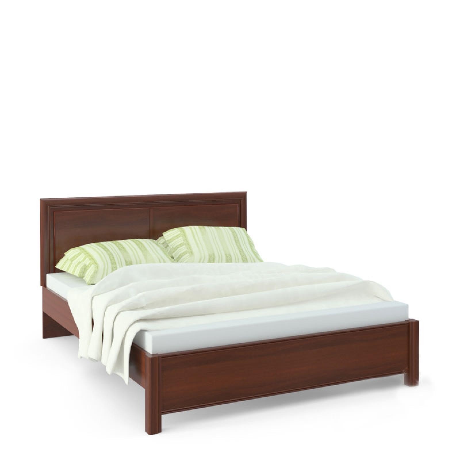 """""""Камелия"""" AP1-01.F1L, Кровать 2 сп. изг. прямоуг. (1600мм) - 1"""