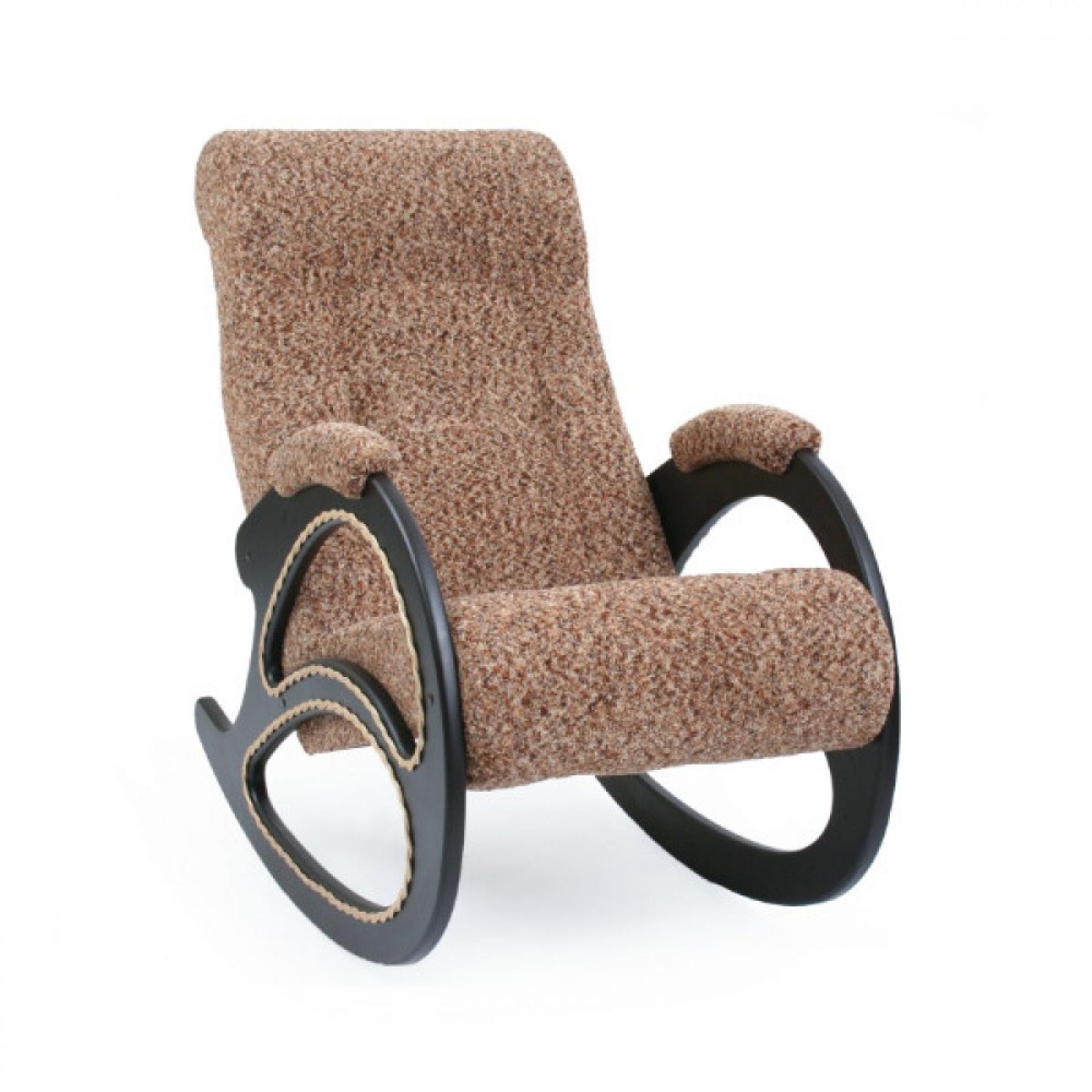 Кресло-качалка, Модель 4 (с декоративной косичкой) Венге/Модена 56 - 1