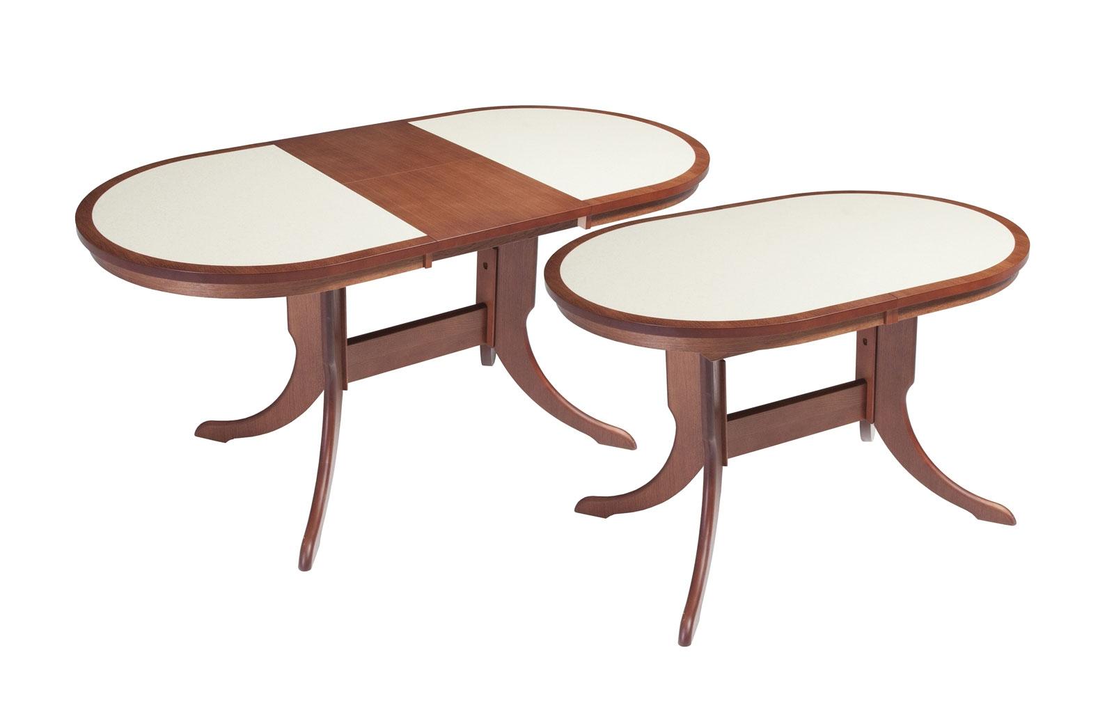 Стол обеденный Лилия с КАМНЕМ - 1