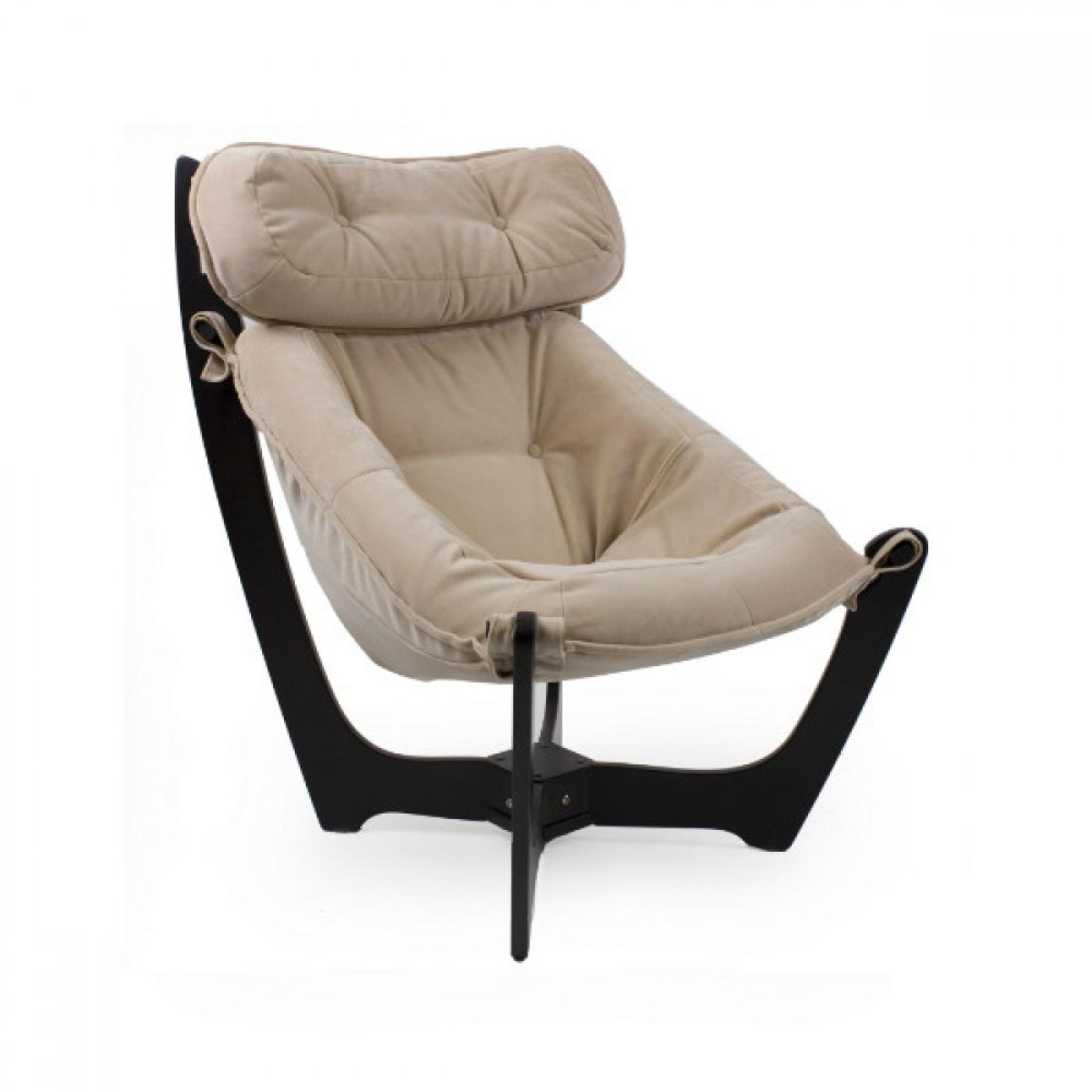 """Кресло для отдыха """"Луна"""", Модель 11 Венге/White - 1"""