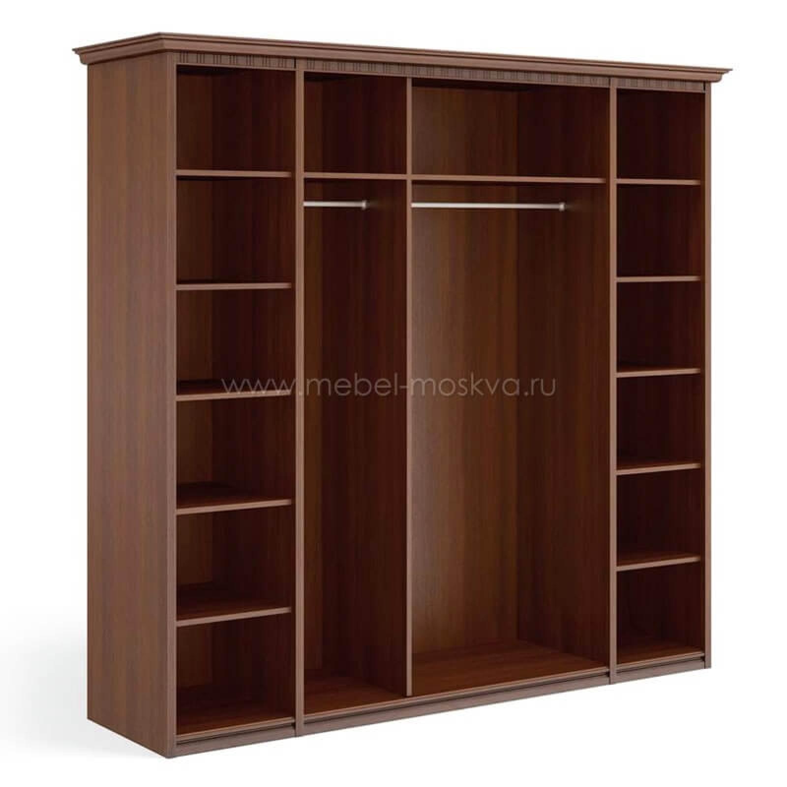 """""""Рапсодия Ю"""" Ю355.15 Шкаф для одежды и белья 5-ти дв. 3 зеркала - 1"""