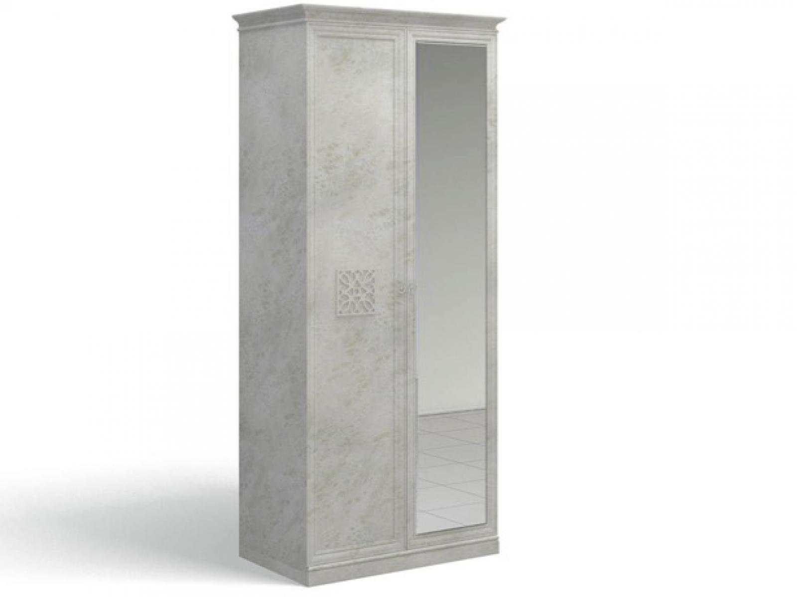 Ария Светлая Шкаф для одежды с зеркалом 701.01Z-B - 1