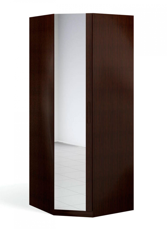 """""""Блюз"""" Шкаф угловой 1-дверный  c зеркалом - 1"""