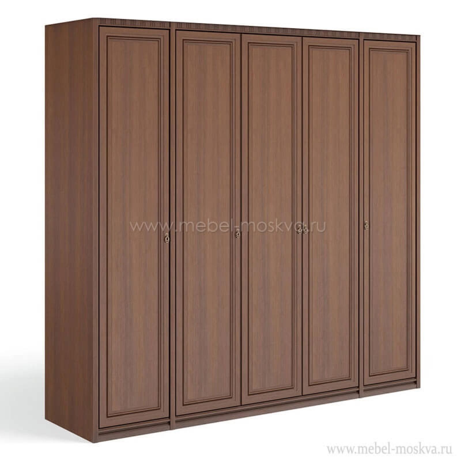 """""""Рапсодия Ю"""" Ю355.1501 Шкаф для одежды и белья 5-ти дв.без зеркал - 1"""