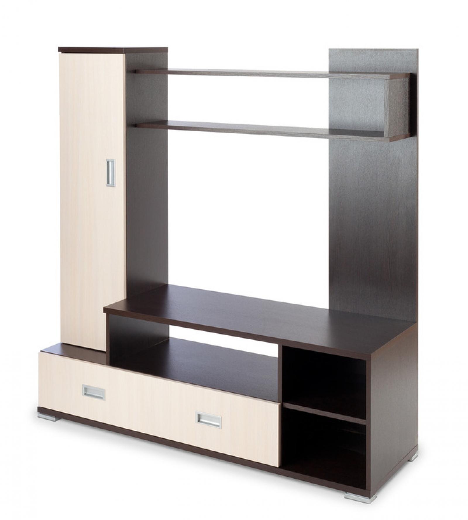 Мебель для гостинной РИО-3 венге/беленый дуб - 1