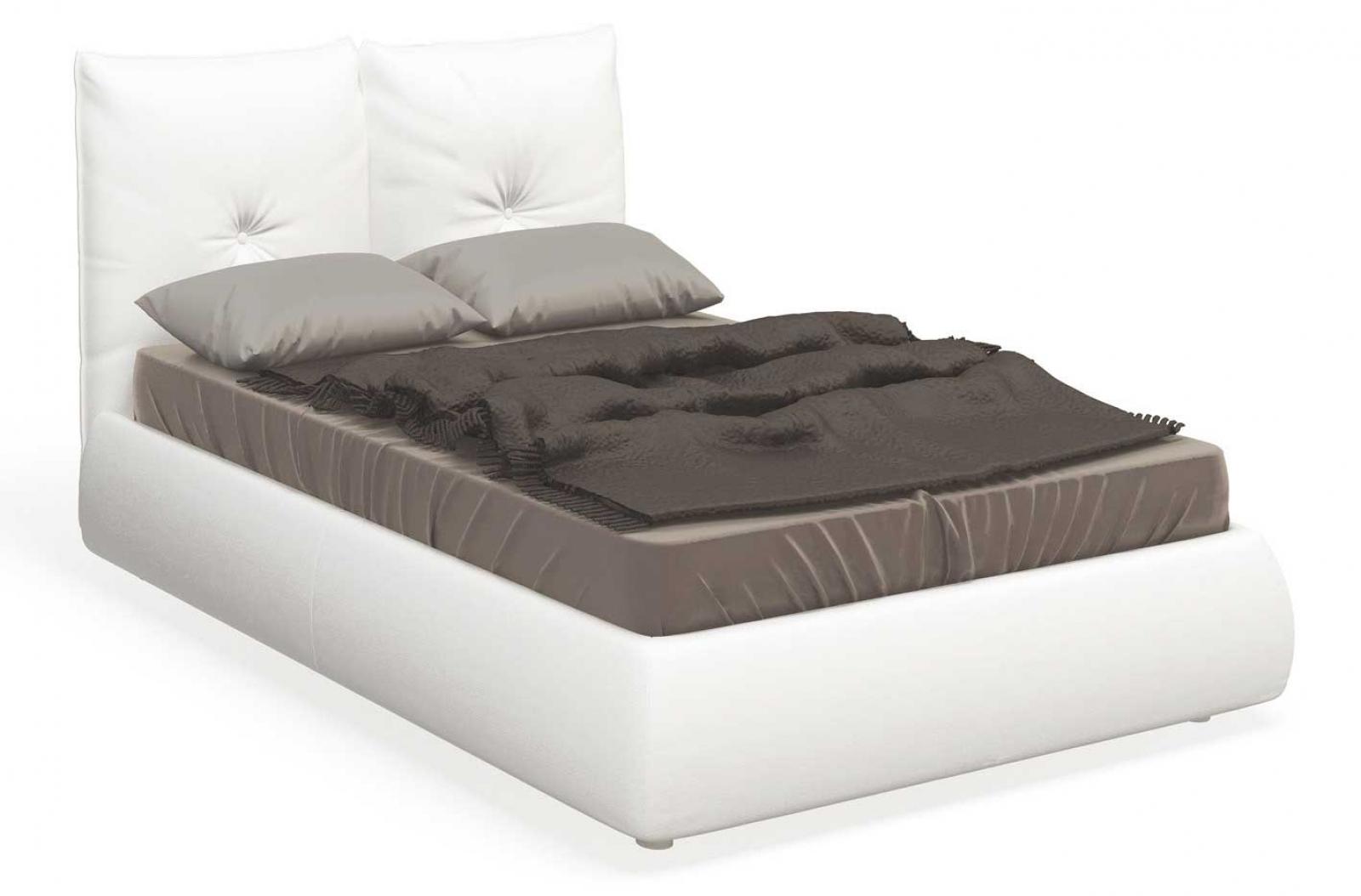 SOLO Белый глянец 800.0714-B Кровать для подъемного основания  1400*2000 - 1