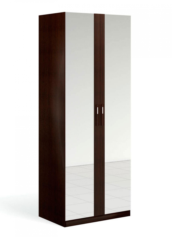 """""""Блюз"""" Шкаф для одежды 2-дверный c 2-мя зеркалами - 1"""