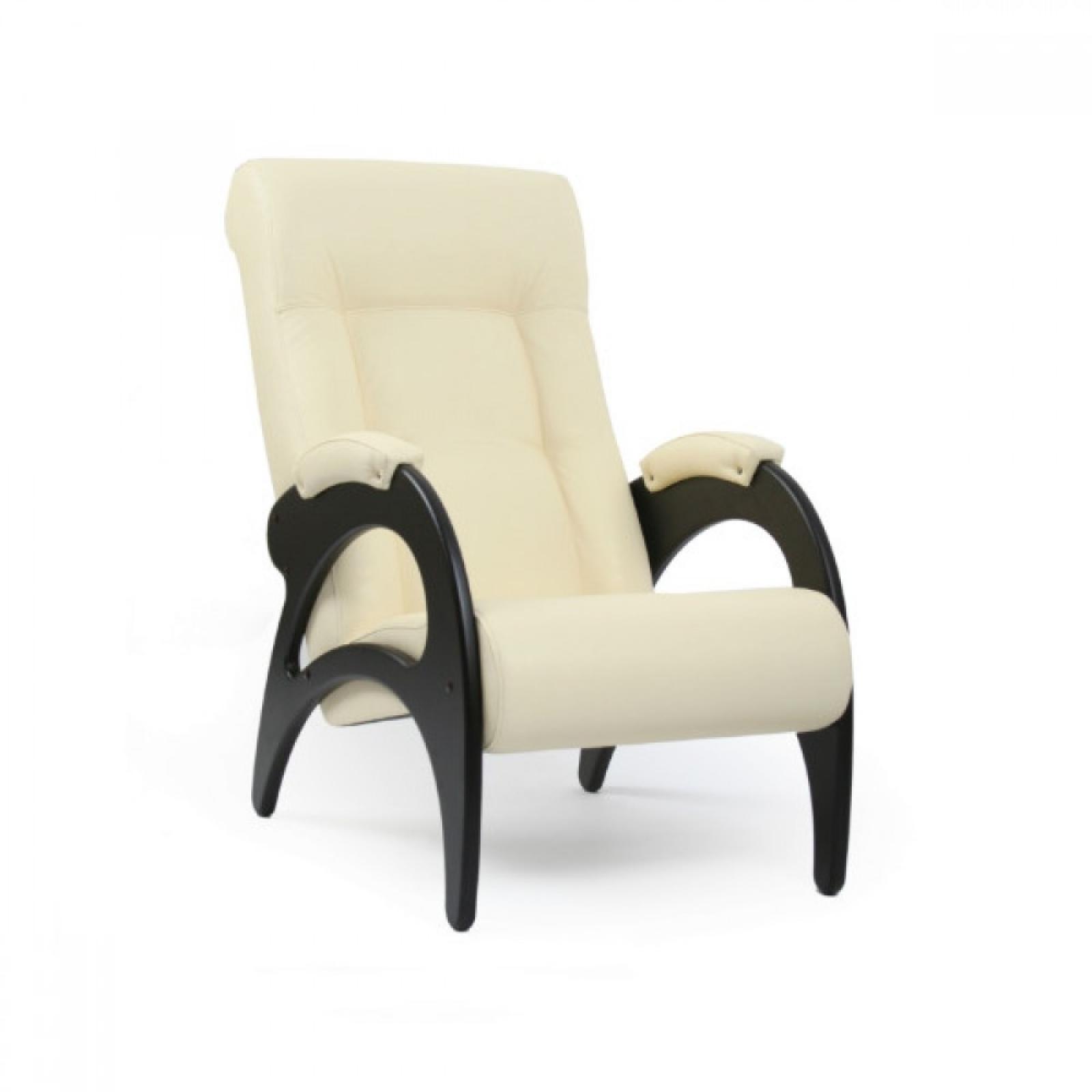 Кресло для отдыха, Модель 41 (без декоративной косичкой) Венге/Манго 002 - 1