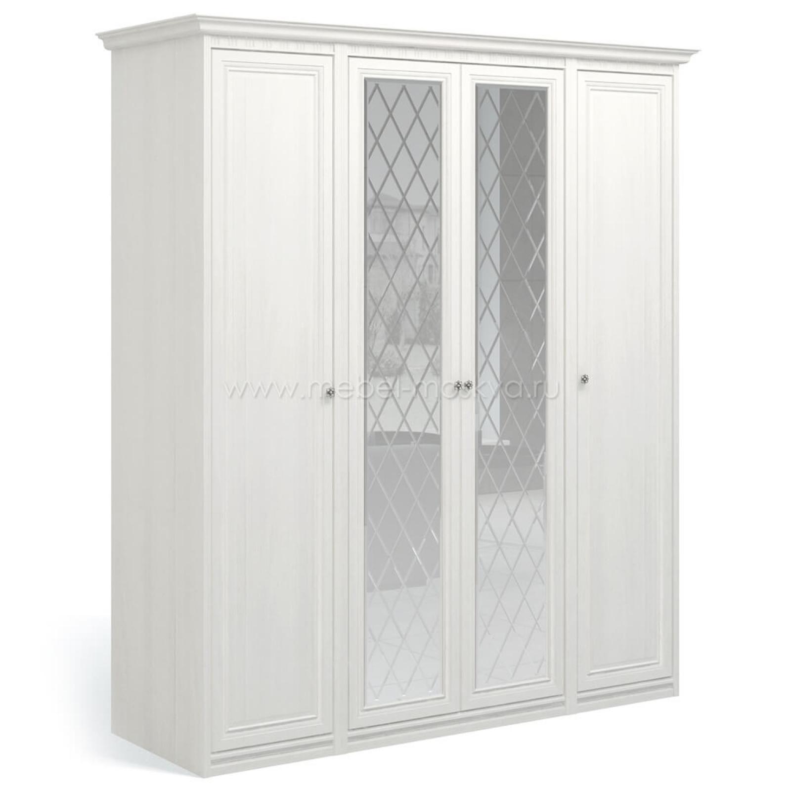 """""""Рапсодия ИДА"""" И355.16 Шкаф для одежды и белья 4-х дв. 2 зеркала - 2"""
