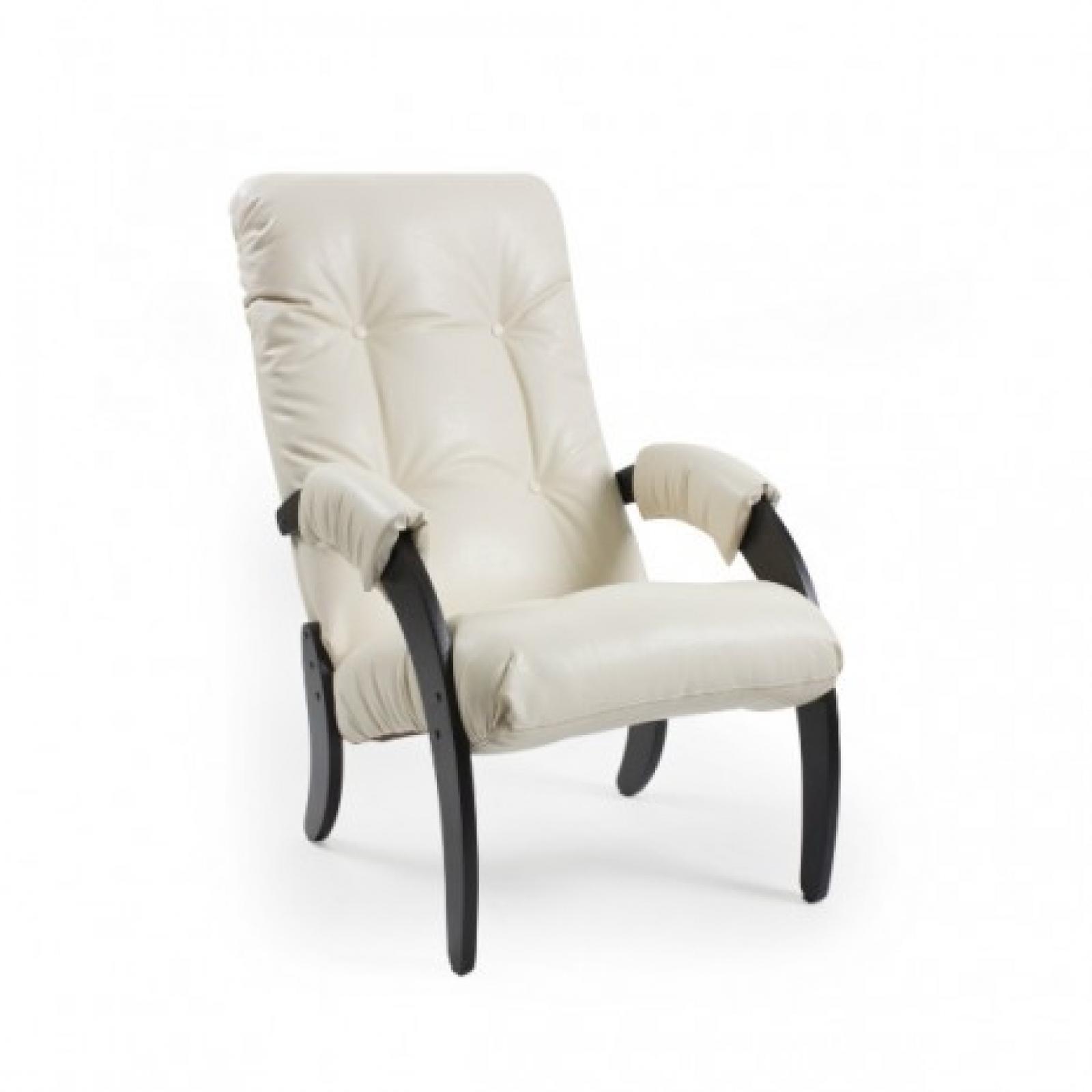 Кресло для отдыха, Модель 61 Венге/Манго 002 - 1