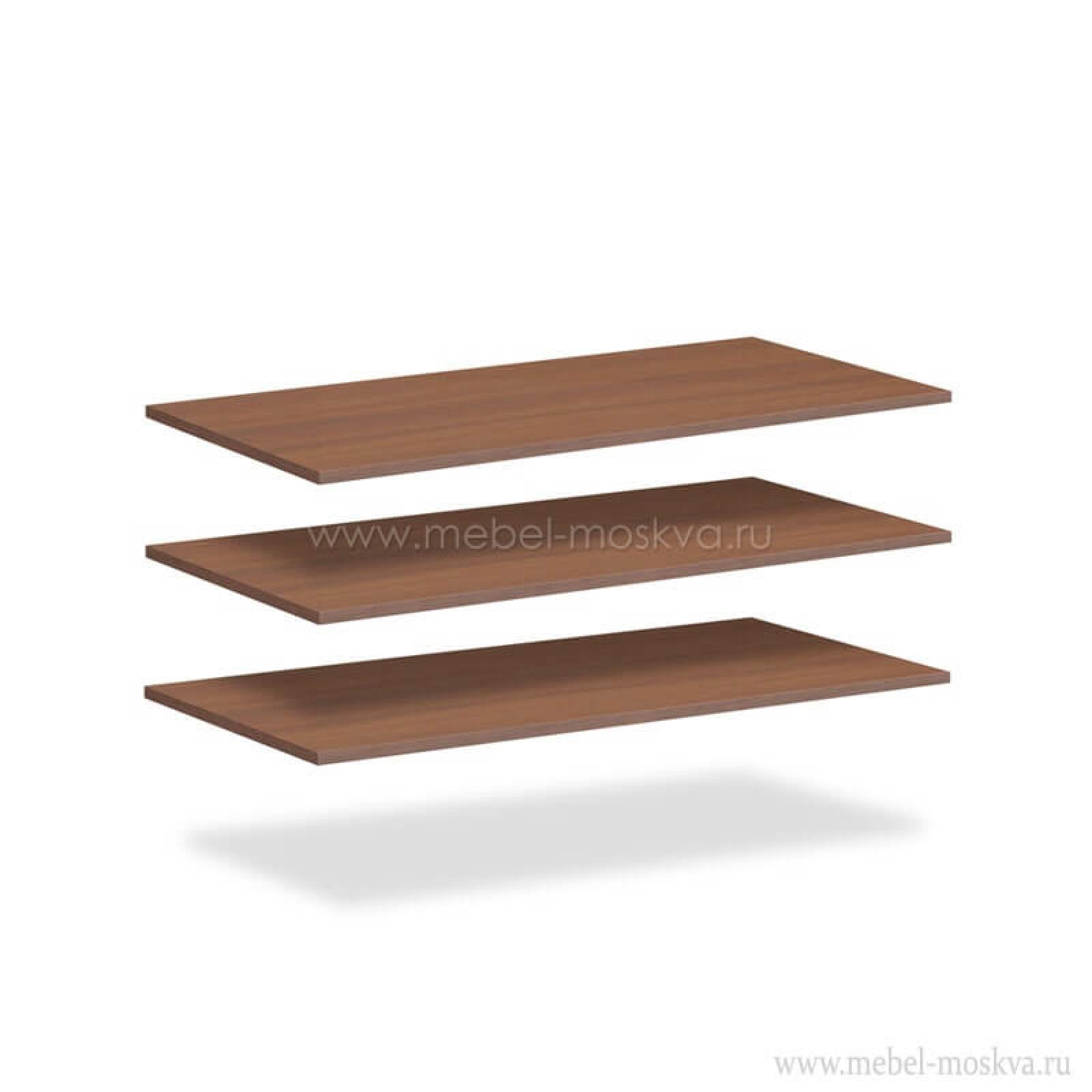 """""""Рапсодия Ю"""" 354.0304 Комплект полок щитовых для шкафа 354.03 3 шт. - 1"""