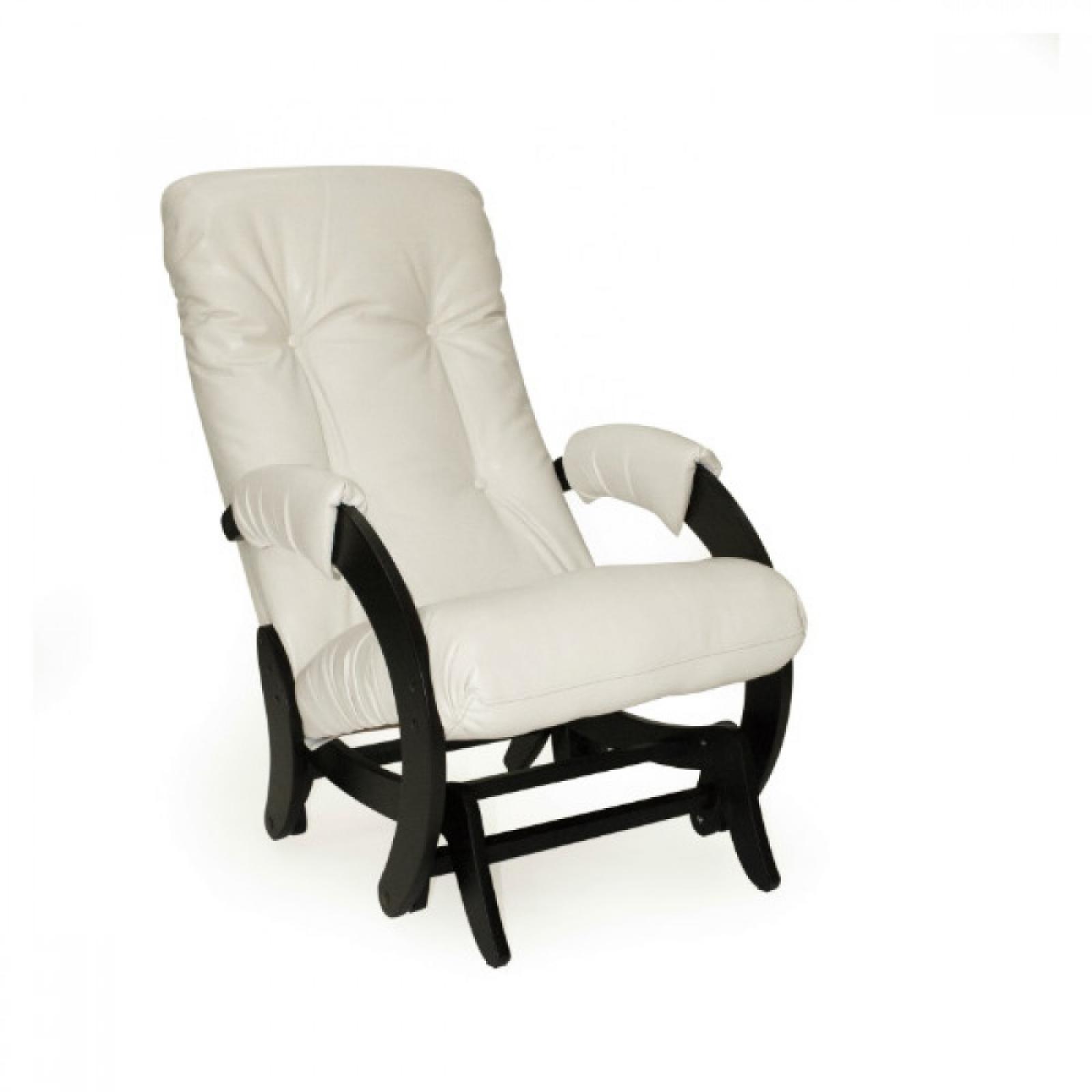 """Кресло-качалка """"Глайдер"""", Модель 68 Венге/Манго 002 - 1"""