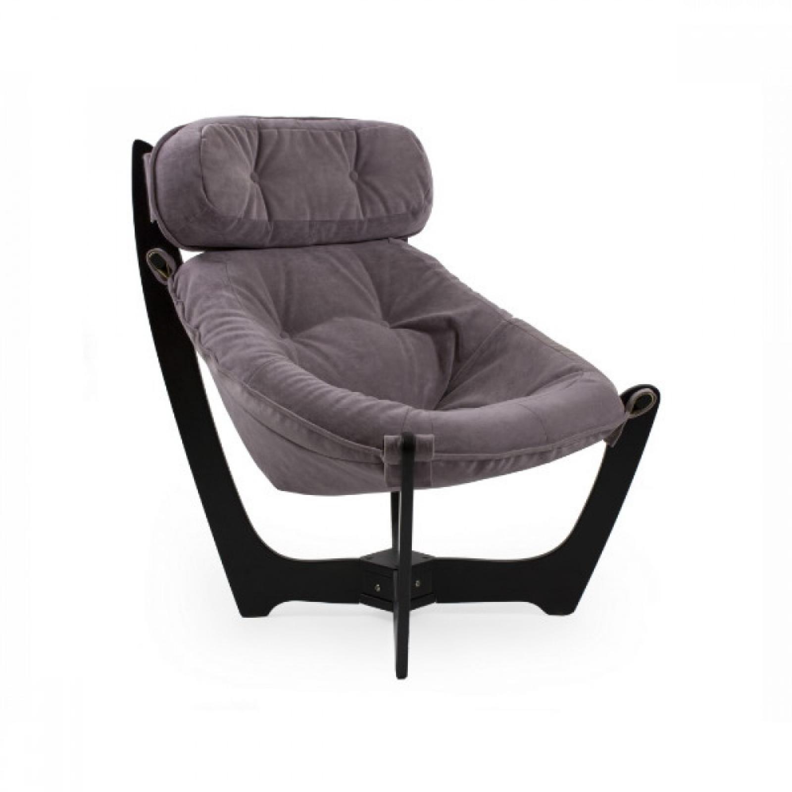 """Кресло для отдыха """"Луна"""", Модель 11 Венге/Lilac - 1"""