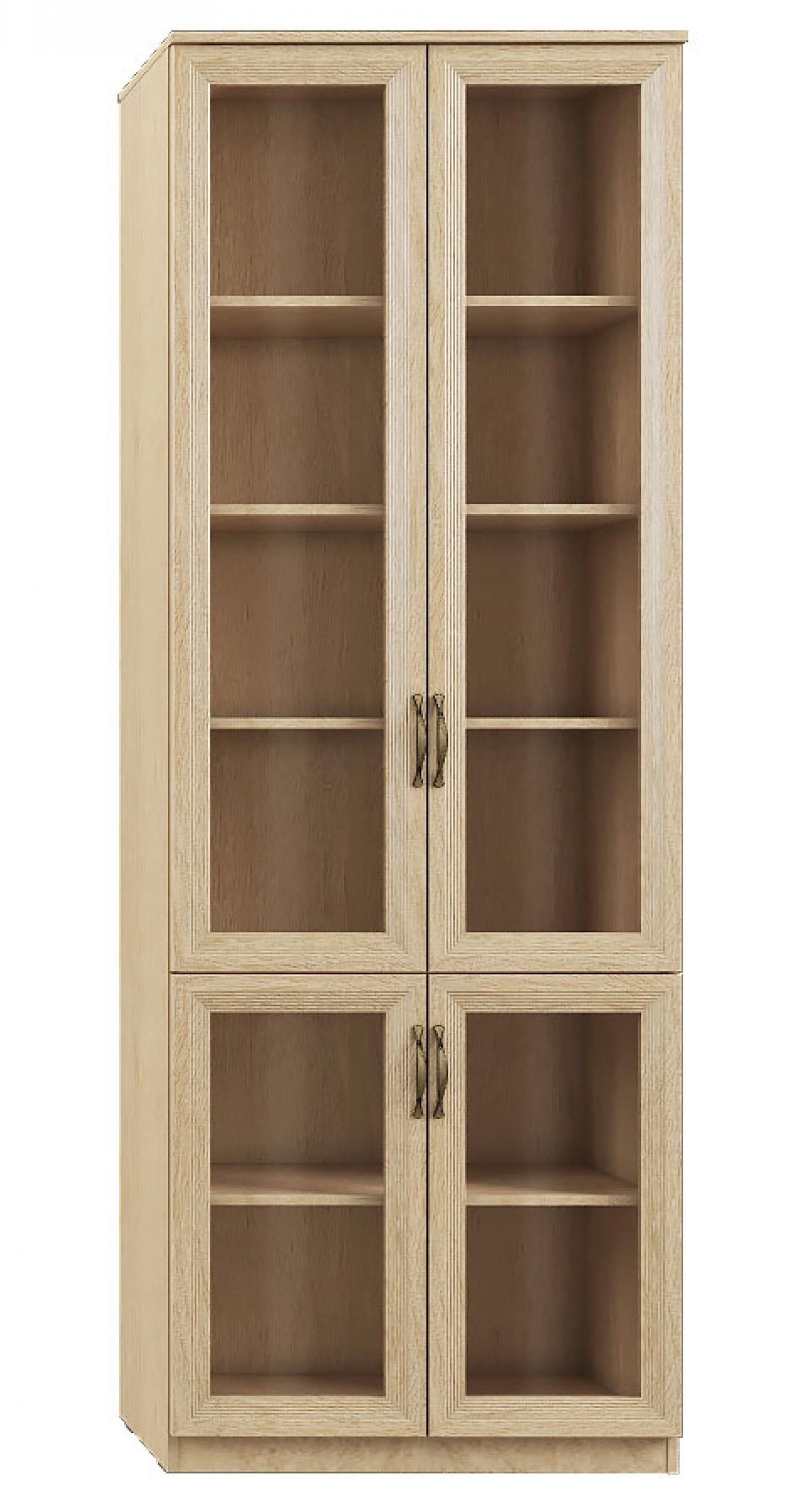 """""""Лира"""" 110 Шкаф 4-х дверный, фасады СТЕКЛ - 1"""