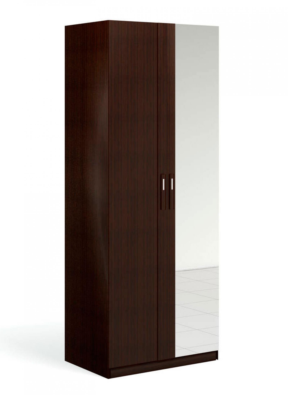 """""""Блюз"""" Шкаф для одежды 2-дверный c зеркалом - 1"""