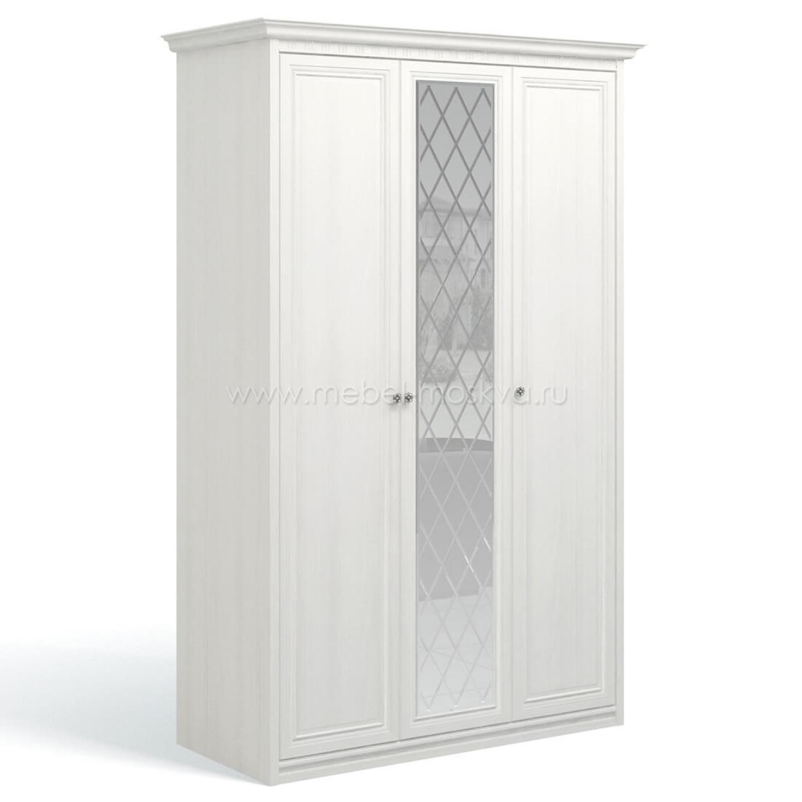 """""""Рапсодия ИДА"""" И355.19 Шкаф для одежды и белья 3-х дв. 1 зеркало - 2"""