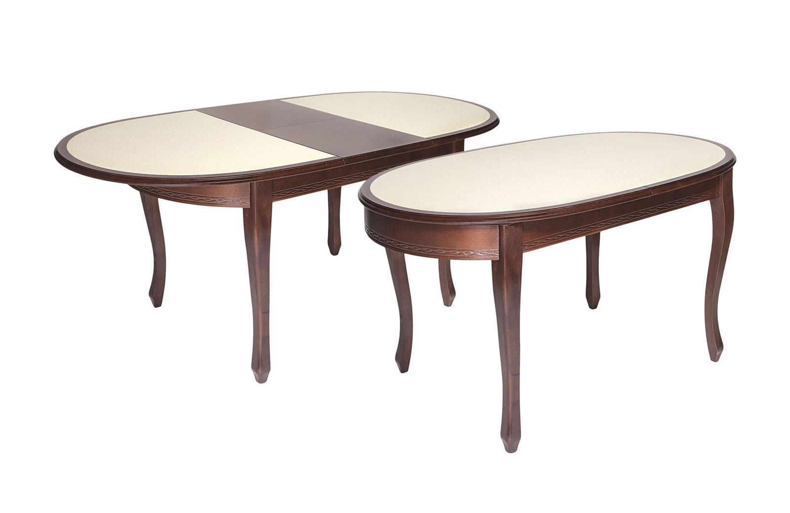 Стол обеденный Азалия 2 с КАМНЕМ - 1