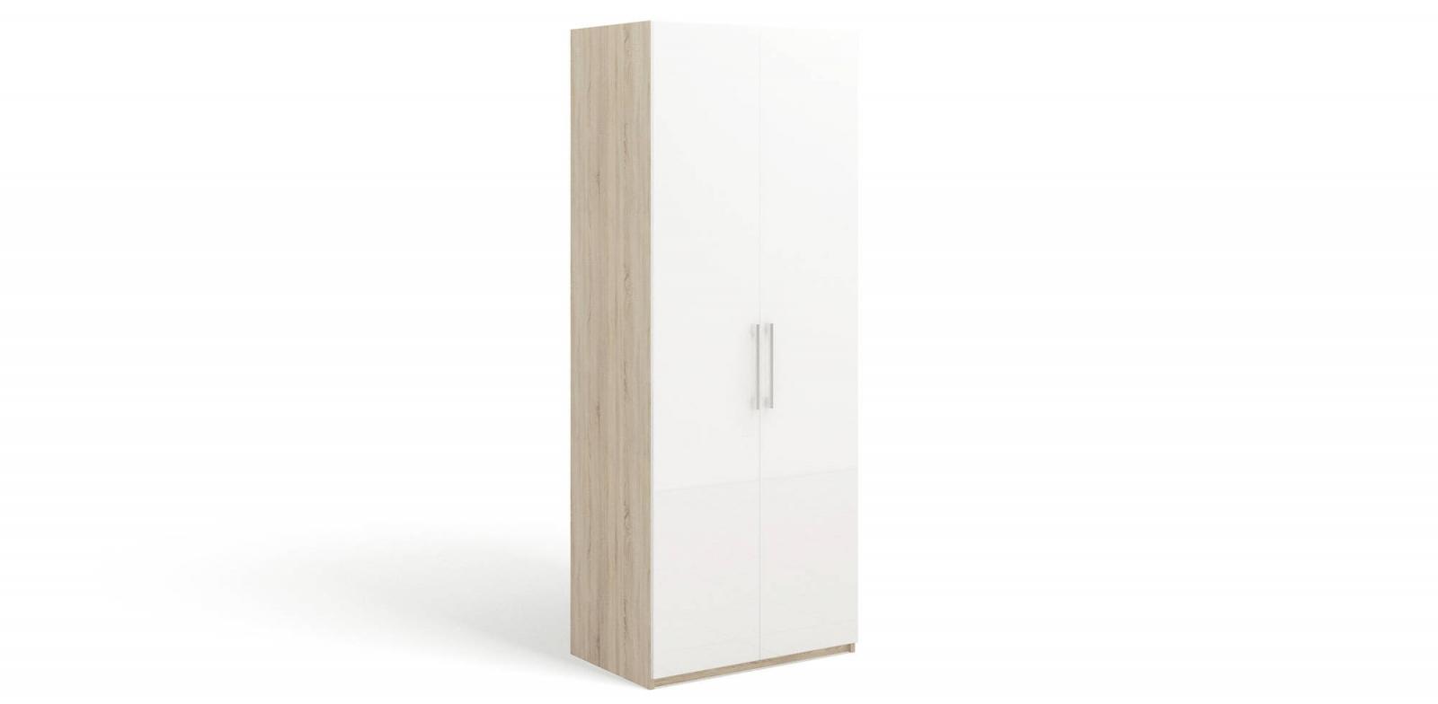 """SOLO Белый глянец 393.01-DB Шкаф 2 дв. / фасад """"глянец"""" - 1"""