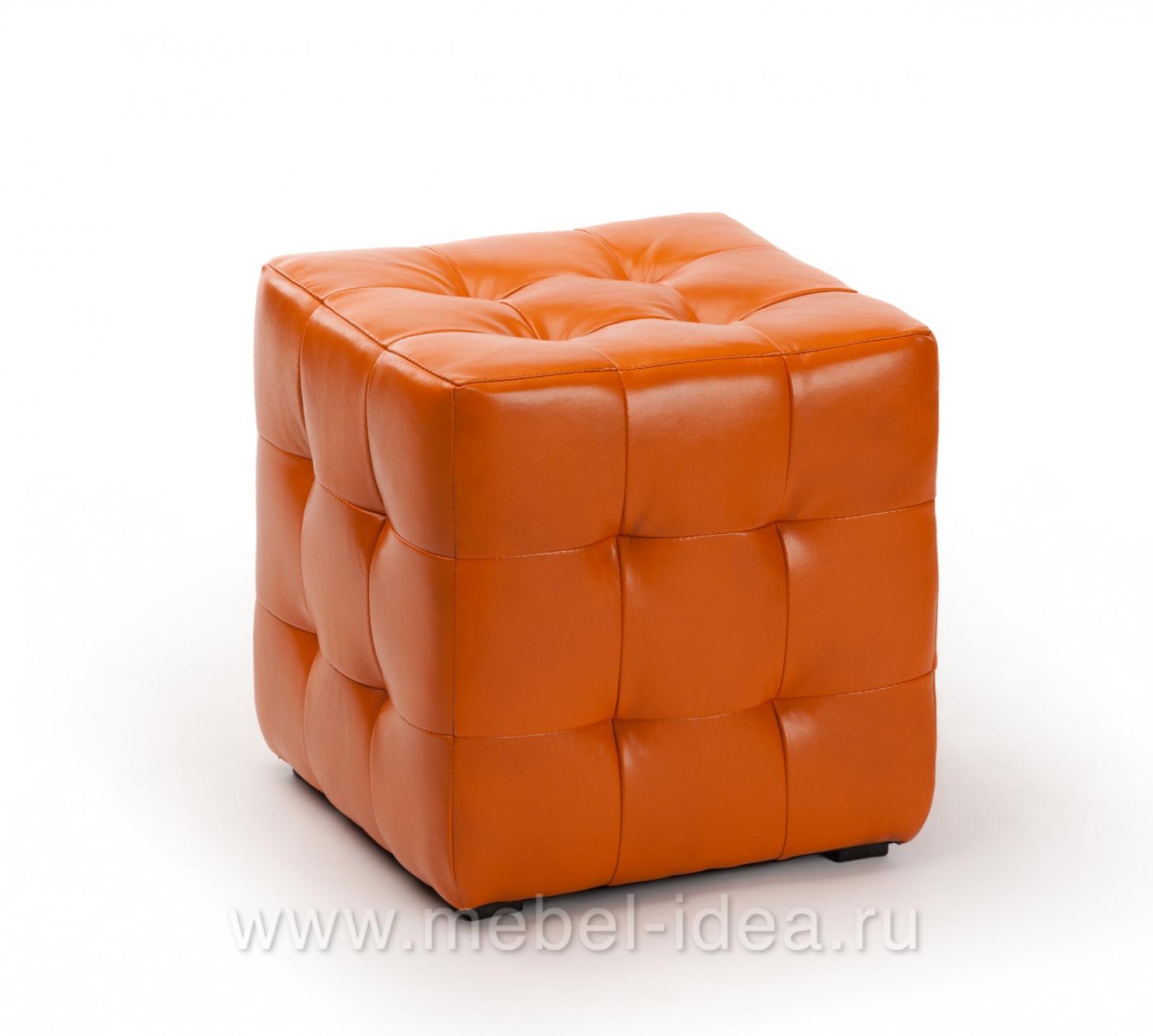 Пуф ПФ-1 оранжевый - 1