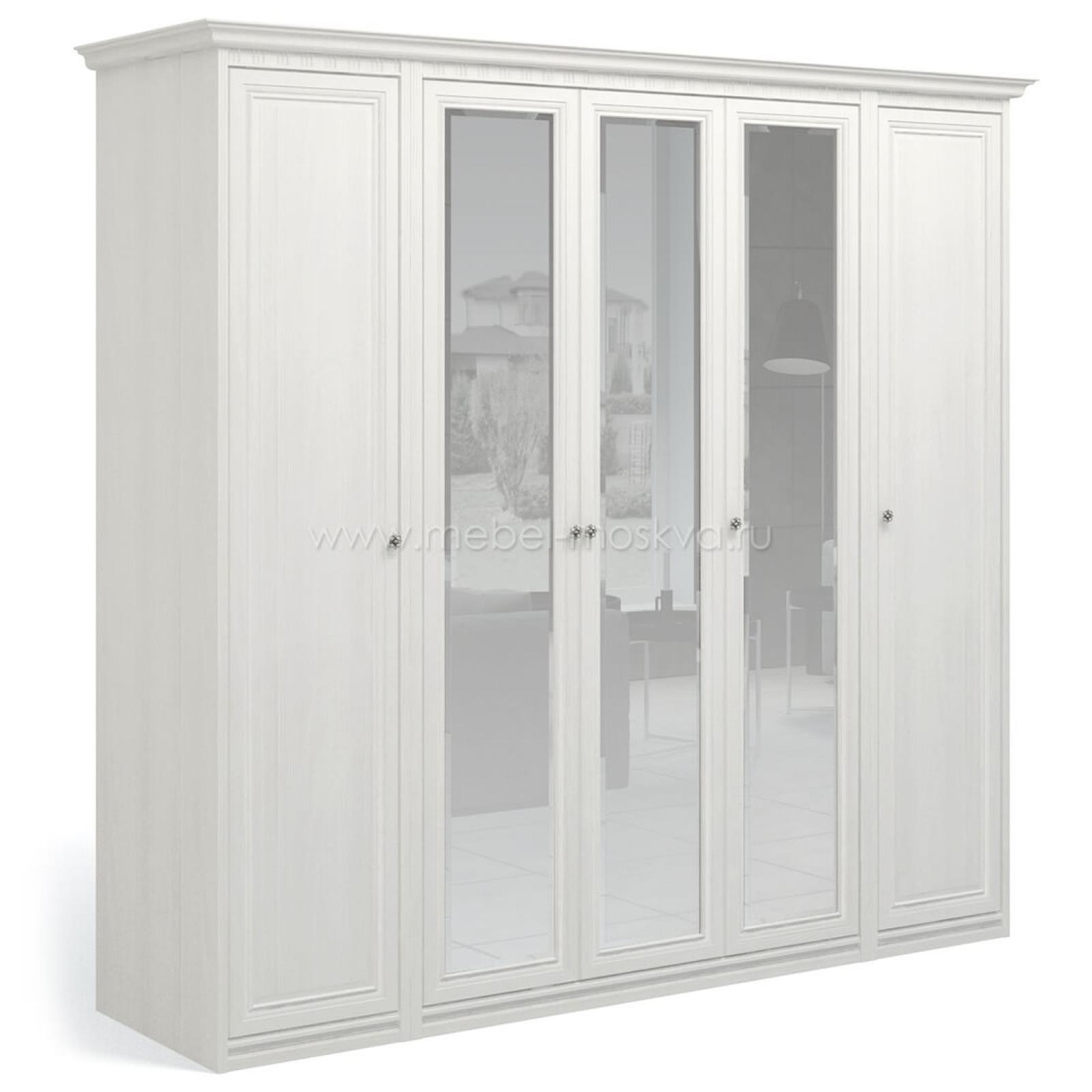 """""""Рапсодия ИДА"""" И355.15 Шкаф для одежды и белья 5-ти дв. 3 зеркала - 2"""