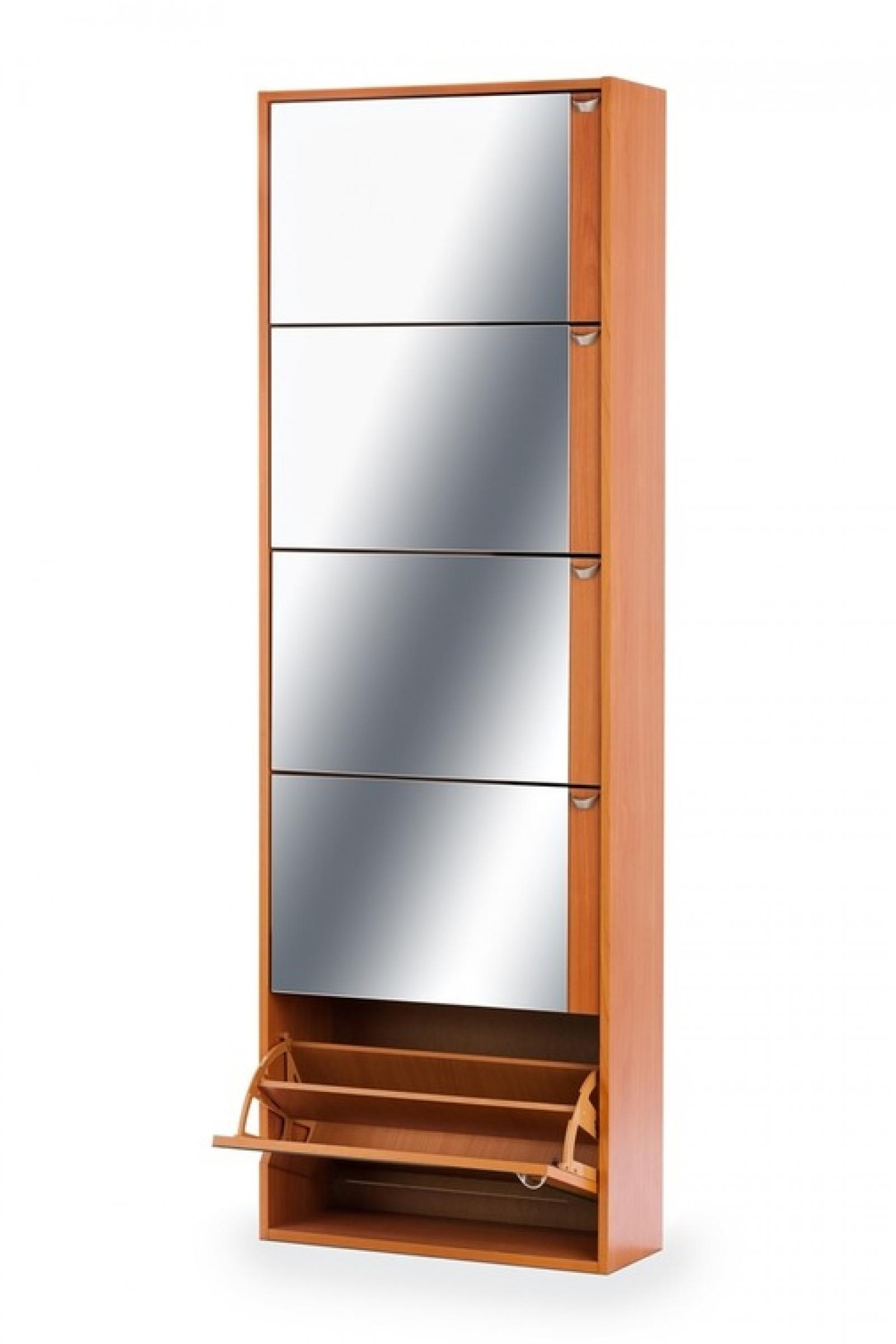 Тумба для обуви К-5 (зеркальная) вишня - 2
