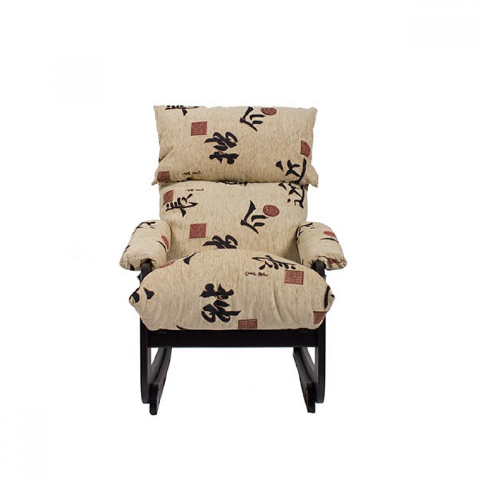 Кресло-трансформер Модель 81 (с откидывающейся спинкой и регулируемым подголовником) Венге/Токио - 1