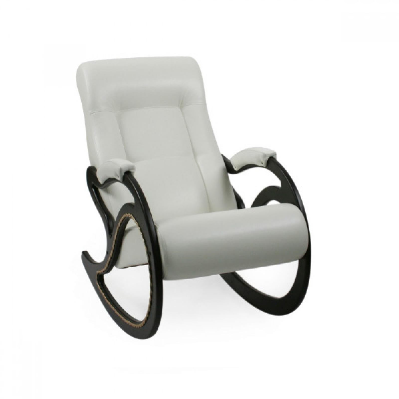 Кресло-качалка, Модель 7 Венге/Манго 002 - 1
