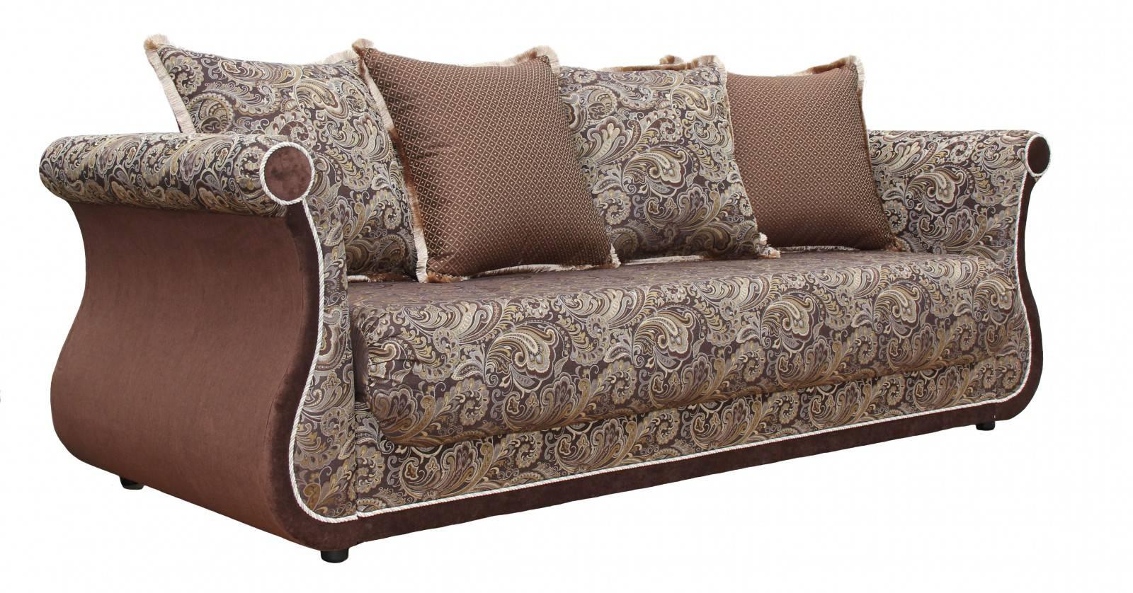 """Диван-кровать """"Дарем стандарт"""" (Роял браун/ энерджи шоколад-арбен) - 6205"""