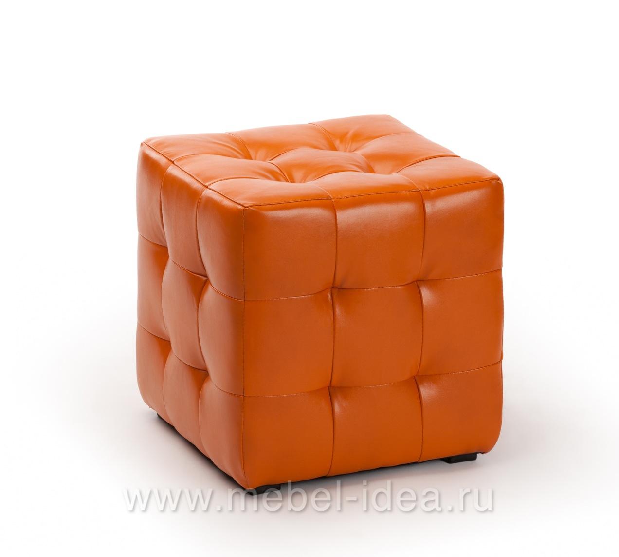 Пуф ПФ-1 оранжевый - 3752