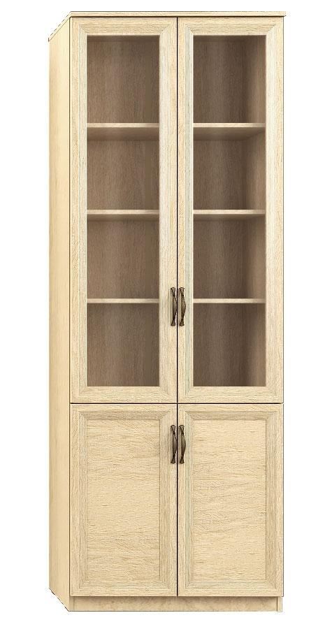 """""""Лира"""" 111 Шкаф 4-х дверный, фасады СТЕКЛ+ДСП - 5605"""