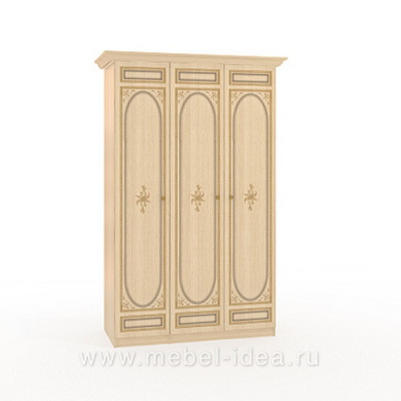 """""""Марта-М Беж"""" Шкаф 3-дверный (1+2) - 884"""