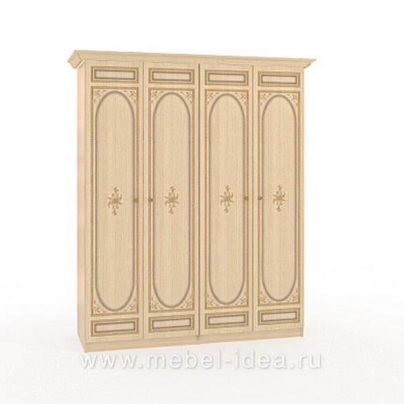 """""""Марта-М Беж"""" Шкаф 4-дверный (2+2) - 886"""