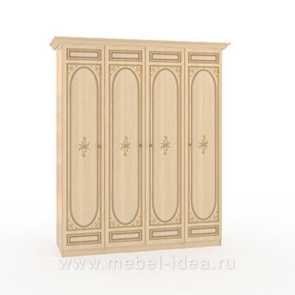 """""""Марта-М Беж"""" Шкаф 4-дверный (1+2+1) - 890"""