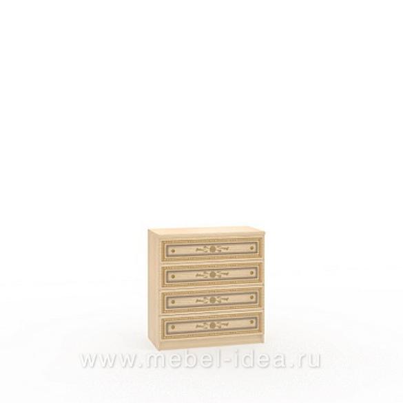 """""""Марта-М Беж"""" Комод 4 ящика - 892"""