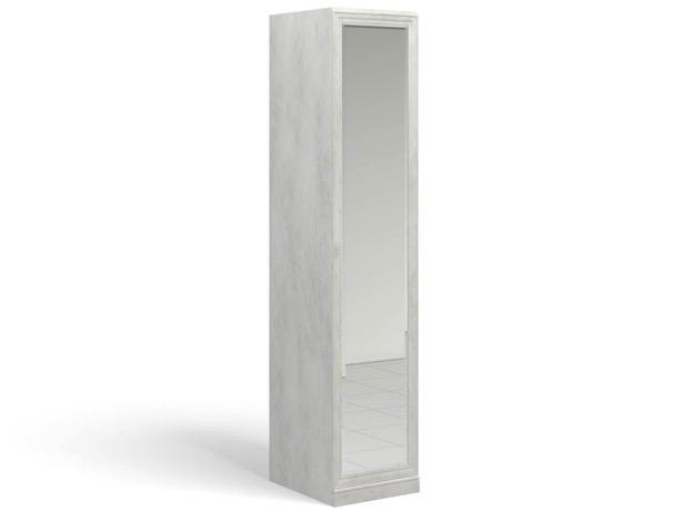 Ария Светлая Колонка для одежды с зеркалом 701.02Z-B - 4097