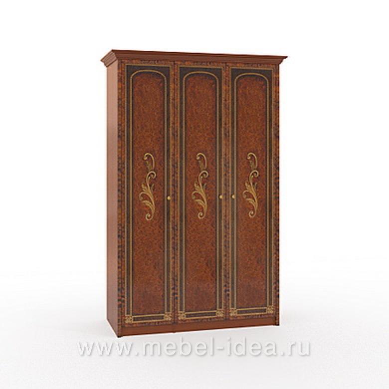 """""""Флоренция-М"""" Шкаф 3-дверный (2+1) - 604"""