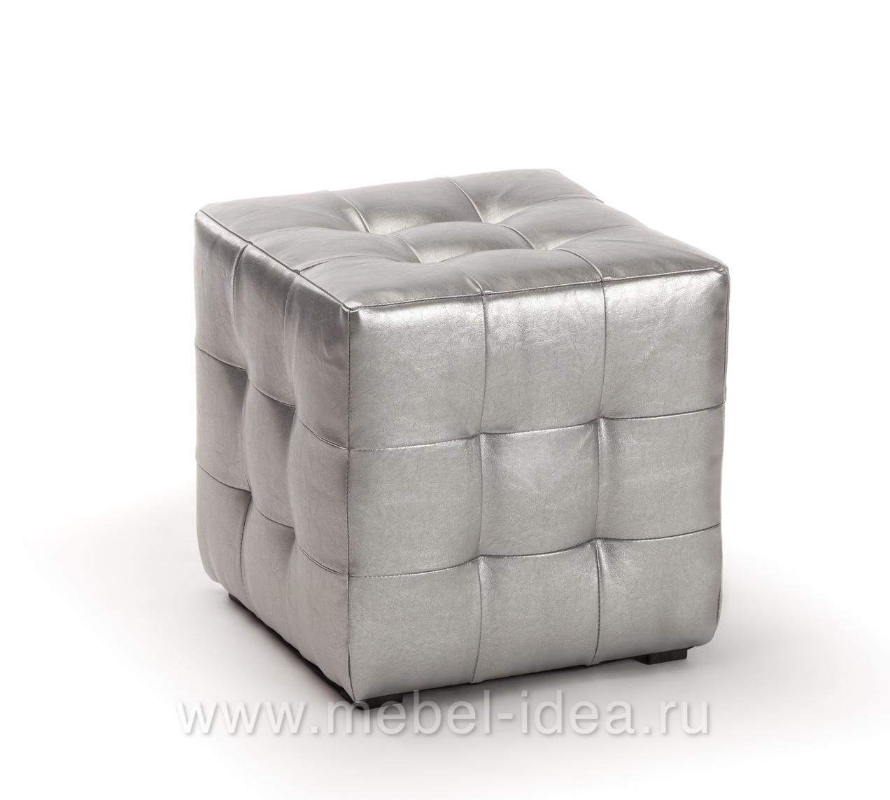 Пуф ПФ-1 серебро - 3754