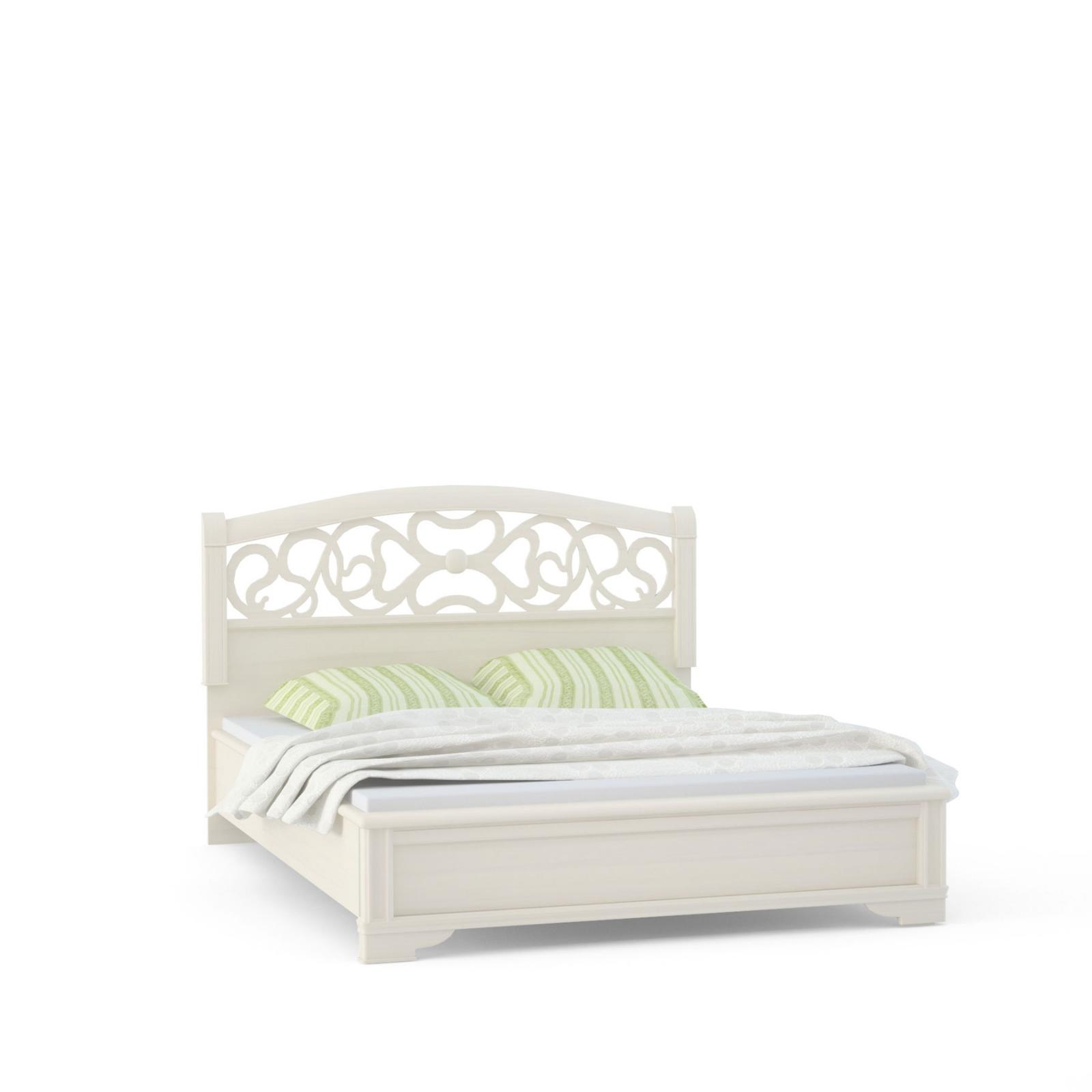 """""""Tiffany Ясень"""" Кровать 2сп. (вставка ясень) - 5201"""