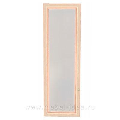 """Сюита Rose"" 371.1801-RL Дверь стеклянная для  371.17, 371.18 левая - 3016"
