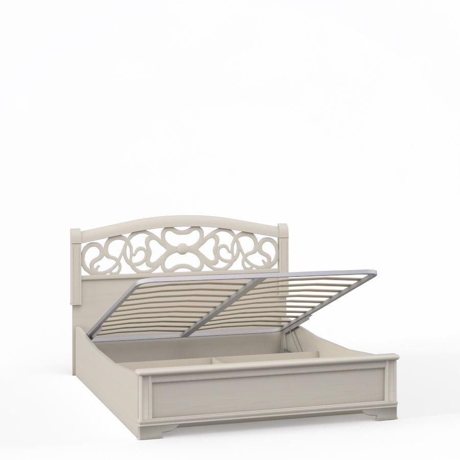 """""""Tiffany Ясень"""" Кровать 2сп. с подъемным мех.(1800мм) вставка ясень - 5202"""