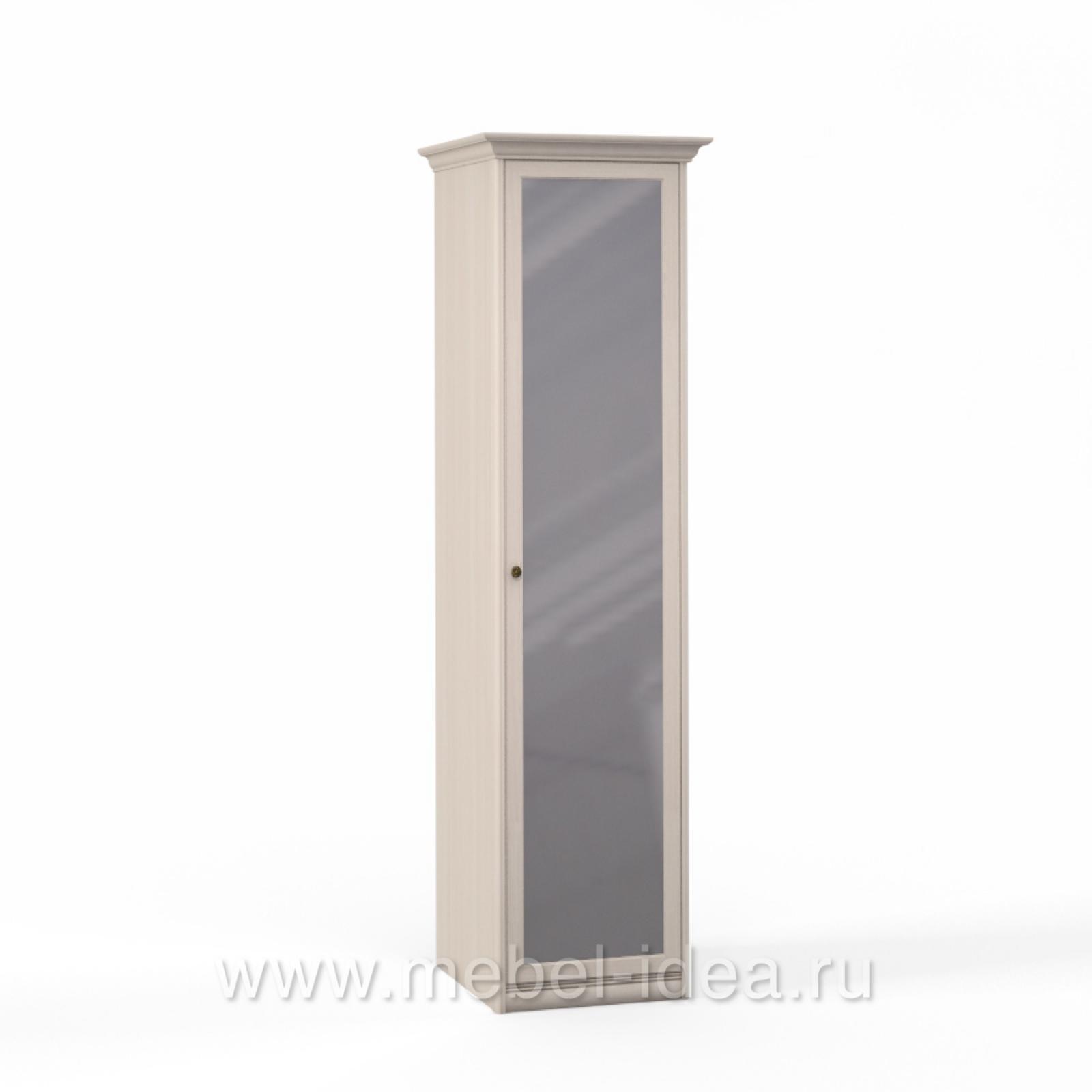 """Лючия светлая"" Шкаф 1 дв. с зерк. - 3535"
