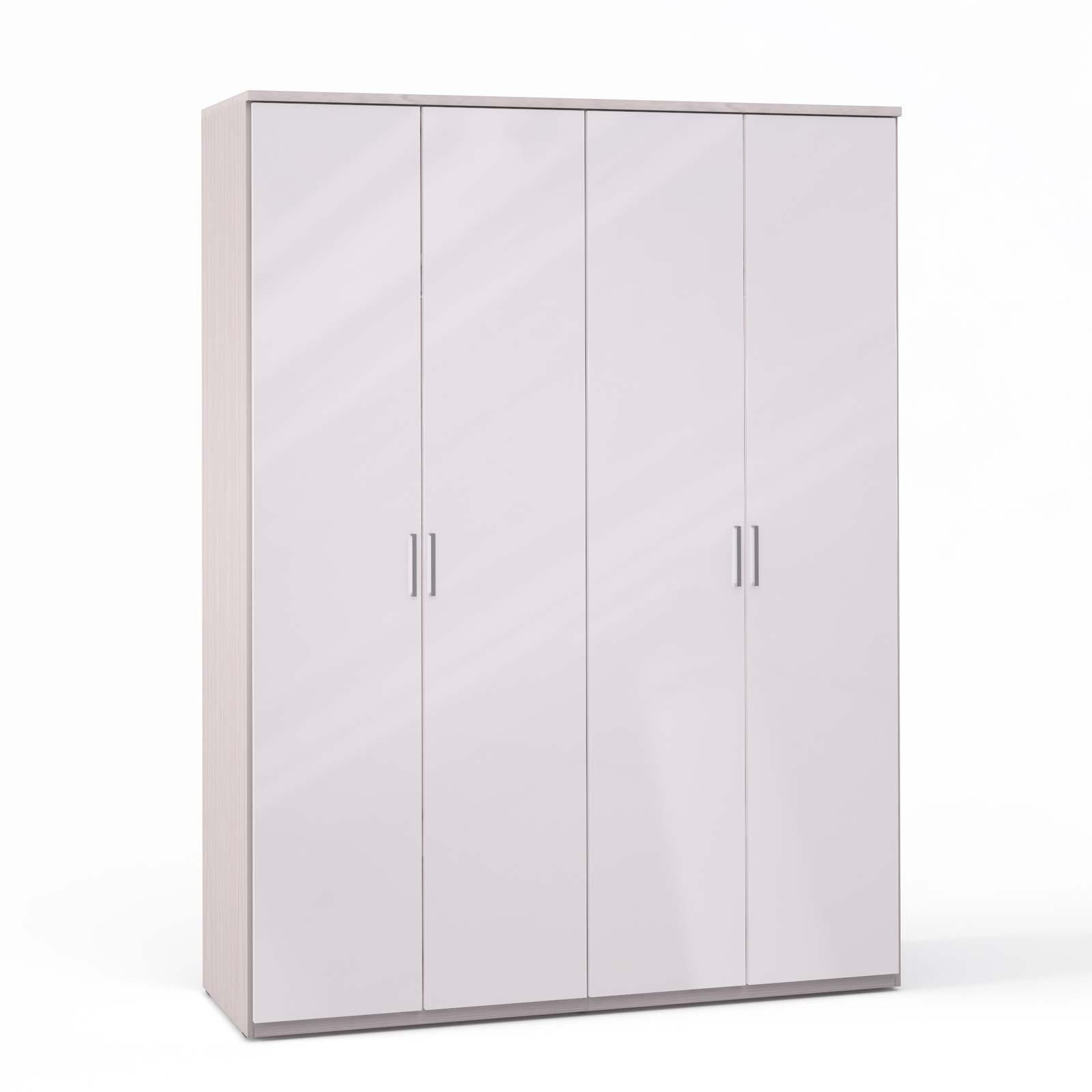 Спальня Rimini Ice Шкаф 4 дв. (2+2) - 5496