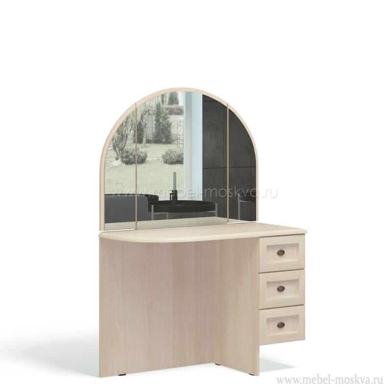 """""""Соната Акация"""" А317.07 Стол туалетный с зеркалом лев/прав - 6545"""