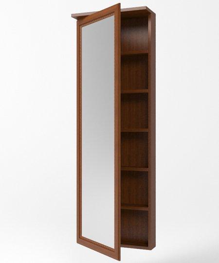 Сакура Орех Секция зеркальная Н15 - 3787
